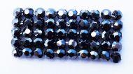 40001 Hematite in Black HF Crystal Mesh Swarovski