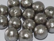 CP-J688 Grey 12 mm Cotton Pearls Miyuki - 5 x