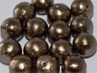 CP-J689 Bronze 12 mm Cotton Pearls Miyuki - 5 x