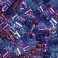 SB3-MIX11 Mix Caribbean Blue Cube 3x3 Miyuki * BUY 1 - GET 1 FREE *