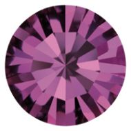 PC08 Amethyst Chaton 8 mm SS39 Preciosa - 12 x