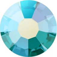 PC08 Blue Zircon AB Chaton 8 mm SS39 Preciosa - 12 x