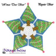 FREE TUTORIAL Christmas Tree 3D Peyote Star (download link per e-mail)