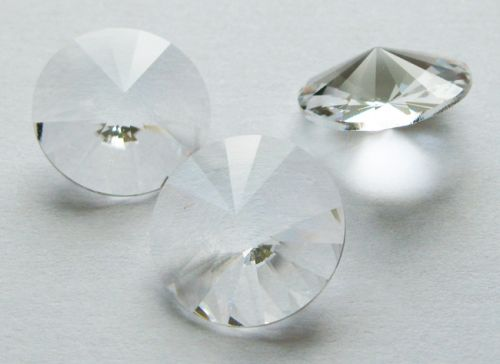1122 Crystal Unfoiled Rivoli 14 mm Swarovski