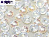 P-00030/28701 Crystal AB Piggy Beads ~ 50 x * BUY 1 - GET 1 FREE *