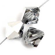 PB12 Crystal Silver 12 mm Bicone Preciosa