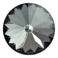 1122 Crystal Silver Night Rivoli 12 mm Swarovski