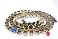 Empty Cup Chain Bracelet 6 mm - SS29 Antique Bronze Plated ~ 10 cm