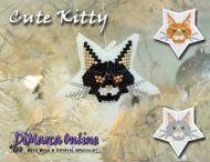 Tutorial Cute Kitty 3D Peyote Star + Basic Tutorial Little 3D Peyote Star (download link per e-mail)