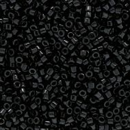 DB0010 Opaque Black Delica 11/0 Miyuki