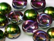 DO-00030/95000 Magic Orchid Iris Dome Beads * BUY 1 - GET 1 FREE *