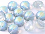 DO-00030/98538 Crystal Rainbow Blue Dome Beads * BUY 1 - GET 1 FREE *