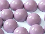 DO-48224 Fiesta Lilac Dome Beads * BUY 1 - GET 1 FREE *