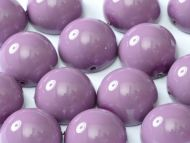 DO-48227 Fiesta Hollyhock Purple Dome Beads * BUY 1 - GET 1 FREE *