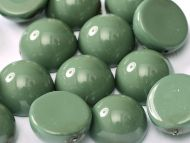 DO-48597 Fiesta Hartford Green Dome Beads * BUY 1 - GET 1 FREE *