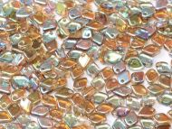 DS-00030/98532 Crystal Rainbow Brown Dragon Scale Beads * BUY 1 - GET 1 FREE *