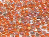 DS-00030/98535 Crystal Rainbow Orange Dragon Scale Beads * BUY 1 - GET 1 FREE *