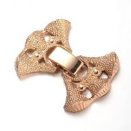 Fold-Over Clasp Filigree 24 mm Gold