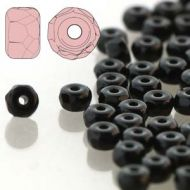 FMS-23980 Jet 2 mm Faceted Micro Spacer ~ 100 x * BUY 1 - GET 1 FREE *