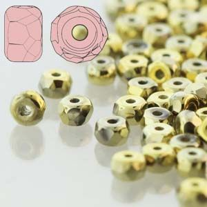 Fire Polished Micro Spacers 2 mm TRUE