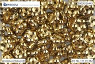 FN-26443 Amber (Gold) Full Forget-Me-Not Beads - 100 x * BUY 1 - GET 1 FREE *