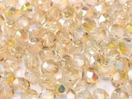FP03 Crystal Rainbow Lemon 3 mm Fire Polished - 100 x
