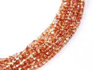 FP02 Crystal Rainbow Orange 2 mm Fire Polished ~ 150 x