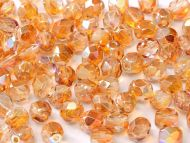 FP03 Crystal Rainbow Orange 3 mm Fire Polished - 100 x