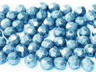 FP04 Chalk Sapphire Blue Lumi 4 mm Fire Polished