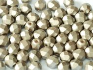 FP04 Pastel Pearl Coco 4 mm Fire Polished