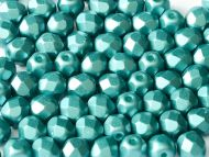 FP04 Pastel Pearl Emerald 4 mm Fire Polished - 100 x