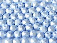 FP04 Blue Pearl 4 mm Fire Polished - 100 x