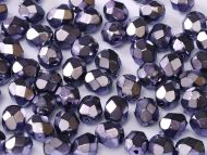 FP03 Heavy Metal Purple 3 mm Fire Polished