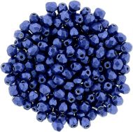 FP03 ColorTrends - Metallic Lapis Blue 3 mm Fire Polished - 100 x