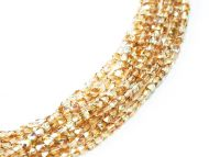 FP02.5 Crystal Rainbow Lemon 2.5 mm Fire Polished - 100 x * BUY 1 - GET 1 FREE *