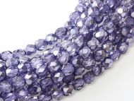 FP03 Metallic Ice Crystal Violet 3 mm Fire Polished