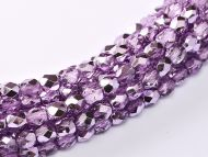 FP03 Metallic Ice Crystal Lilac 3 mm Fire Polished ~150 x