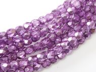 FP03 Metallic Ice Crystal Purple 3 mm Fire Polished