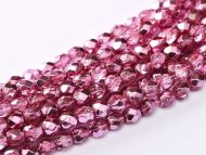 FP03 Metallic Ice Crystal Rose 3 mm Fire Polished ~ 150 x