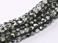 FP03 Metallic Ice Crystal Anthracite 3 mm Fire Polished