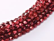 FP03 Metallic Ice Crystal Pomegranate 3 mm Fire Polished ~150 x