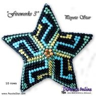 Tutorial Fireworks 1 - 3D Peyote Star + Basic Tutorial Little 3D Peyote Star (download link per e-mail)
