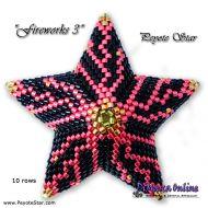 Tutorial Fireworks 3 - 3D Peyote Star + Basic Tutorial Little 3D Peyote Star (download link per e-mail)