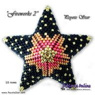 Tutorial Fireworks 2 - 3D Peyote Star + Basic Tutorial Little 3D Peyote Star (download link per e-mail)
