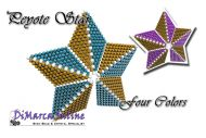 Tutorial Four Colors 3D Peyote Star + Basic Tutorial Little 3D Peyote Star (download Link per e-mail)