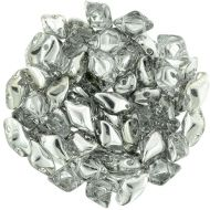 GD-00030/27001 Crystal Silver GemDuos