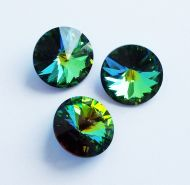 1122 Green Sphinx Rivoli 14 mm Swarovski