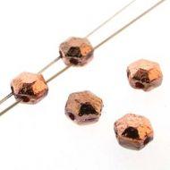 HCJ-27103 Chiseled Capri Gold Full Honeycomb Jewels - 30 x