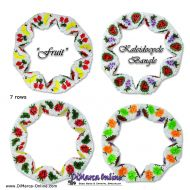 Tutorial Fruit Kaleidocycle Bangle incl. Basic Tutorial (download link per e-mail)