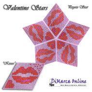 Tutorial Valentine Kisses 3D Peyote Star + Basic Tutorial Little 3D Peyote Star (download link per e-mail)